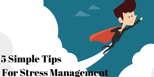 5 simple tips for stress management supersmarthealth for Tips for going minimalist