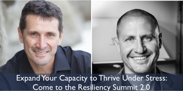 daniel friedland and john coyle resilience summit