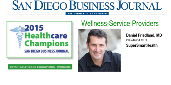 daniel friedland awarded san diego wellness provider of the year